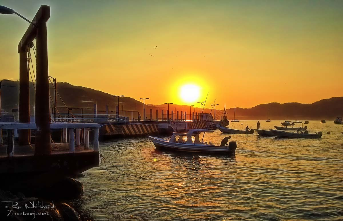 The Municipal Pier - Zihuatanejo